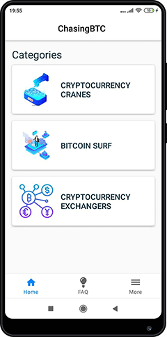 Mobile application ChasingBTC